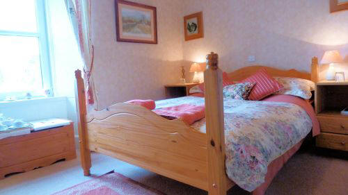 The double bedroom at The Old Manse Guest House, Lochcarron