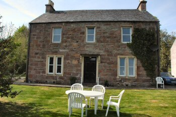 The Old Manse Guest House in Lochcarron is a superbly refurbished granite building, formerly the vicarage in the village.