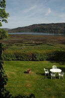 There are superb sea views from two of the bedrooms at The Old Manse Guest House in Lochcarron